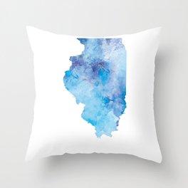 Illinois Throw Pillow