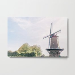 The Netherlands 0005: Mill in Hulst, The Netherlands Metal Print