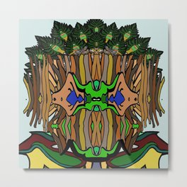 Treeentish Metal Print