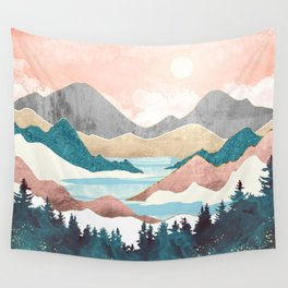 Lake Sunrise Wall Tapestry