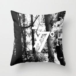 seven times seventy times Throw Pillow