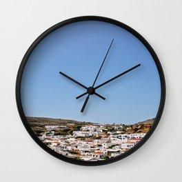 Lindos II Wall Clock