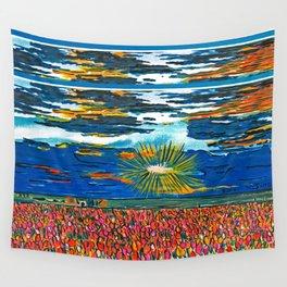 Light in My Art Wall Tapestry