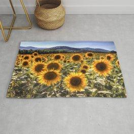 The Sunflower Summer Rug