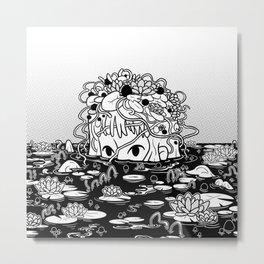 Swamped Metal Print