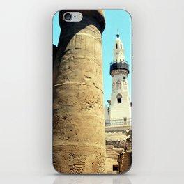 The Mosque of Abu Haggag, Luxor, Egypt iPhone Skin