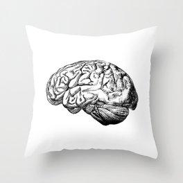Brain Anatomy Throw Pillow