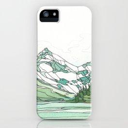 Glacier Bay Panoramic iPhone Case