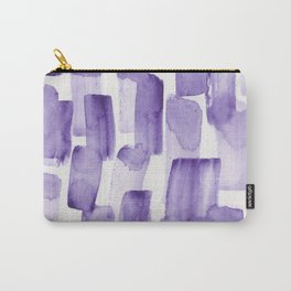Purple Watercolour Patterns   190129 Abstract Art Watercolour Carry-All Pouch