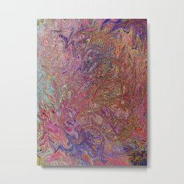 Abstract Art, Fairy Wings, Colorful digital art Metal Print