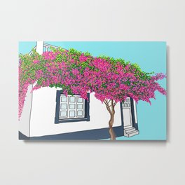A Little Portuguese House Metal Print