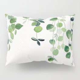 Eucalyptus Watercolor 2  Pillow Sham
