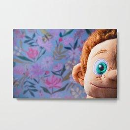 Stuffed Animal Tarzan Portrait 3 Metal Print