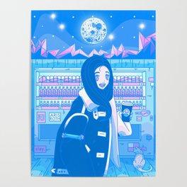 Tokyo GF w/ Nezuko - Nostalgic Anime Interpretation Poster