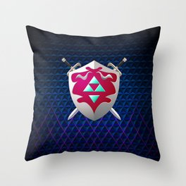 legend of zelda shield Throw Pillow