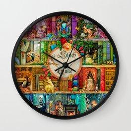 A Stitch In Time Wall Clock