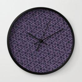 Jali Dark - Perfume Frosting Wall Clock