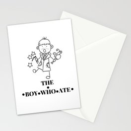 The Boy Who Ate Line Art - Ron Weasley Stationery Cards
