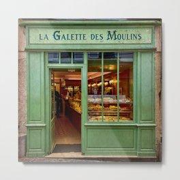 La Galette des Moulins Metal Print