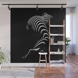 0774-AR BBW Sensual Legs Hips and Ass of a Large Woman Big Beautiful Art Nude Black and White Wall Mural