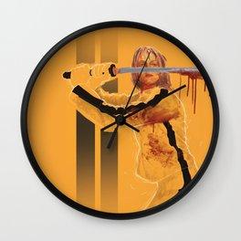 kill bill Wall Clock