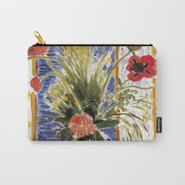 Henri Matisse - Poppies - Exhibition Poster Carry-All Pouch