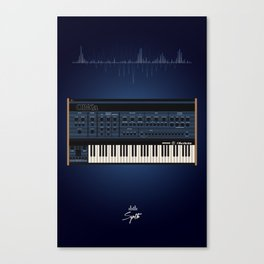 The Synth Project - Oberheim OB-XA Canvas Print