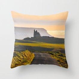 Classiebawn Castle in Sligo - Ireland Print (RR 263) Throw Pillow