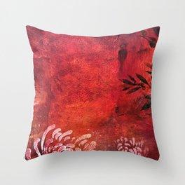RedEarth Throw Pillow