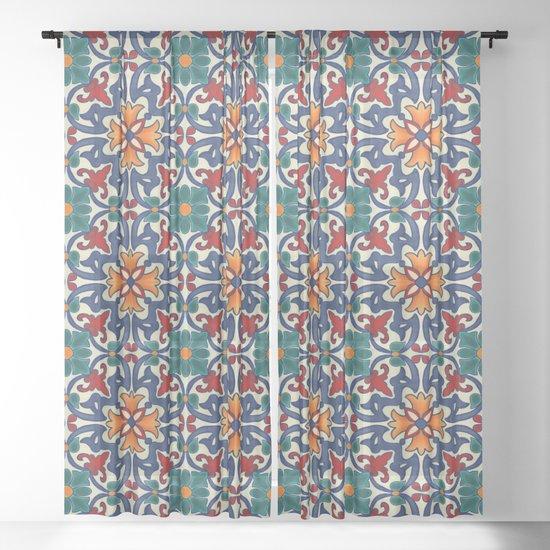 Colorful Azulejos Pattern by catyarte