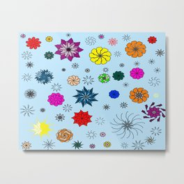 color me flaky Metal Print