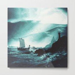 The Northern Tide Metal Print