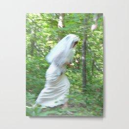 The Runaway Bride Metal Print