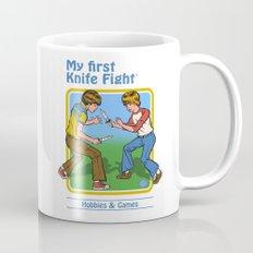 MY FIRST KNIFE FIGHT Coffee Mug