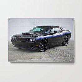 2010 MOPAR '10 Black Challenger Limited Edition Metal Print