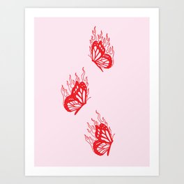 Give Me Butterflies Kunstdrucke