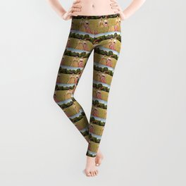 Two Pretty Kitties: Out for a Stroll Leggings