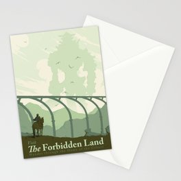 Visit The Forbidden Land Stationery Cards