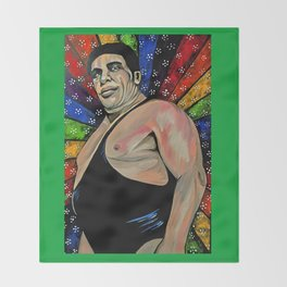 Andre the Giant Throw Blanket