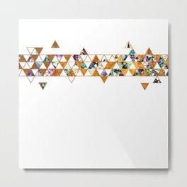 Alcohol Ink Tesselations Metal Print