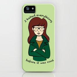 Daria, the Original Hipster iPhone Case