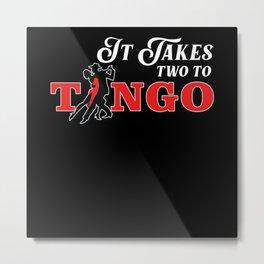 Tango, Salsa, Russia, Metal Print