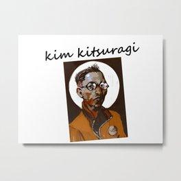 Disco Elysium Kim Kitsuragi Metal Print