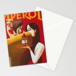 Aperol Alcohol Aperitif Spritz Vintage Advertising Poster Stationery Cards