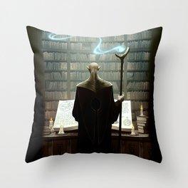 The secrets of darkest magic Throw Pillow