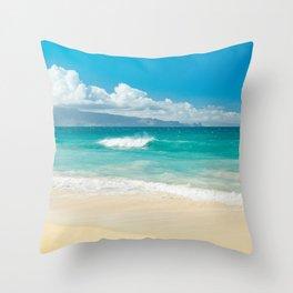 Hawaii Beach Treasures Throw Pillow