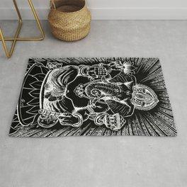 Ganesh: White Rug
