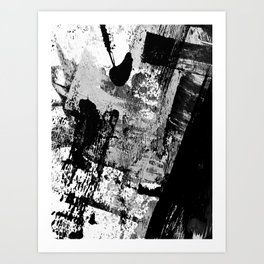 Black and White 01013 Art Print