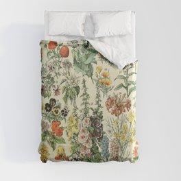 Adolphe Millot Vintage Fleurs Flower 1909 Duvet Cover