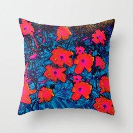Watercolor Days Throw Pillow